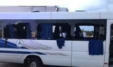 سقوط عدد من القتلى والجرحى نتيجة تعرض حافلة لإطلاق نار بأوكرانيا