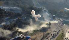 وسائل إعلام يونانية: صدامات بين المهاجرين والشرطة في جزيرة ساموس