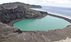 تشكل جزيرة جديدة في المحيط الهادي شبيهة بالمريخ