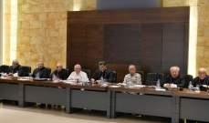 مجلس المطارنة: المطلوب الاسراع في اقرار قانون الانتخاب لتلافي الوقوع في الفراغ