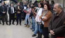النشرة: بدء اعتصام الحملة الدولية لاطلاق سراح عبدالله أمام سفارة فرنسا