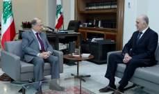 الرئيس عون عرض مع وزير الداخلية خطة العمل في المرحلة المقبلة
