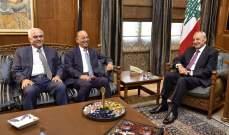 بري يعرض اﻻوضاع المالية مع عضو لجنة الرقابة على المصارف أحمد صفا والتقى عددا من السفراء