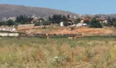النشرة: ورشة اسرائيلية بتأهيل الطريق العسكري بمحاذاة مستعمرة المطلي