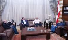 الحريري يلتقي النائب هاغوب بقرادونيان والوزير أفيديس كيدانيان