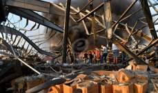"""""""رويترز"""": الرئيس عون ودياب تلقيا تحذيرا من أن نترات الأمونيا بالمرفأ ربما تدمر العاصمة إذا انفجرت"""