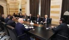 كوبيتش: ندعم الأهداف الإصلاحية والقرارات المعتمدة من الحكومة اللبنانية