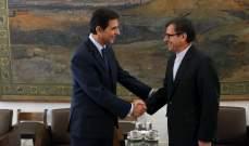 سفير إيران باليونان: الحظر الأميركي على إيران هو بمثابة الإرهاب الاقتصادي