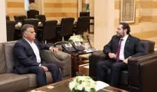 ابراهيم وصل إلى السراي الحكومي للقاء الحريري: الأمور إيجابية