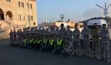 تسليم سيارة إسعاف لجمعية الرسالة للإسعاف الصحي في بلدة ميس الجبل