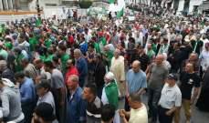 الشرطة الجزائرية اعتقلت عشرات الأشخاصخلال تظاهرات الأسبوع الـ14 بالجزائر