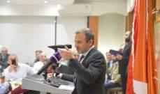 باسيل: لا اقصاء في الحل الحكومي بل تنازل من كل الجهات المعنية