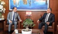 اللواء ابراهيم التقى الشامسي وسفير تونس