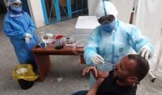 النشرة: فريق طبي من مستشفى صيدا الحكومي أجرى فحوصات كورونا بمخيم عين الحلوة