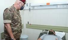 قائد الجيش تفقّد المستشفى العسكري المركزي ومنطقة المرفأ