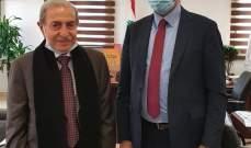 الخليل بحث مع وزير الصحة الملف الصحي في قضاء حاصبيا