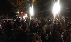 """النشرة: محتجون نفذوا مسيرة """"قرع على الطناجر"""" في النبطية"""