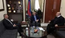حمدان زار زاسبيكين: دور روسيا محوري في معالجة ازمات الشرق الأوسط