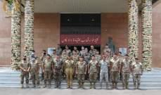 قائد مدرسة الحرب الفرنسية استمع للخطط المستقبلية لتعزيز دور كلية فؤاد شهاب وامكاناتها
