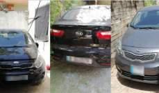 قوى الأمن: مفرزة حلبا ضبطت 3 سيّارات مسروقة في محلة البحصة بعكار