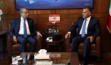 اللواء ابراهيم استقبل السفير المصري