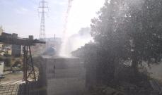 حريقان في القبيات بسبب ارتفاع الحرارة