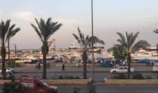 قائد سرية درك طرابلس جال في المدينة ودوريات راجلة في المناطق الشعبية
