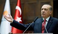 أردوغان: لا نكترث للتهديدات وسنحمي حقوقنا شرق المتوسط