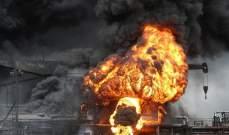حريق في ناقلة نفط اندونيسية ينتج سبعة قتلى وعشرات المصابين