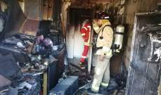 الدفاع المدني: إخماد حريقين داخل شقتين سكنيتين في الخندق الغميق وبعبدا