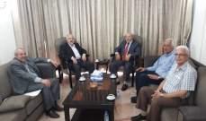 حب الله التقى وفدا قياديا من الجبهة الديمقراطية لتحرير فلسطين