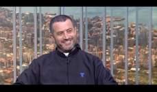 الاب جوزيف بو رعد ترأس قداس الشعانين في كنيسة مار الياس بانطلياس