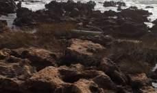 العثور على صاروخ غير منفجر على شاطئ عدلون والقوى الأمنية تعمل على تفكيكه