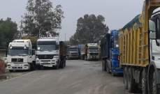 الافراج عن 60 سائق شاحنة لبنانيا كانوا محتجزين عند الحدود السورية اللبنانية