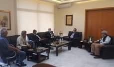 مرتضى: مشاريع وزارة الزراعة ستشمل الأراضي اللبنانية كافة