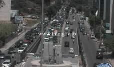 التحكم المروري: حركة المرور كثيفة من جسر الفيات باتجاه العدلية