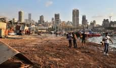 وزير الصحة: ارتفاع عدد ضحايا انفجار مرفأ بيروت إلى 154