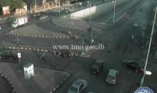 التحكم المروري: إعادة فتح السير على تقاطع المدينة الرياضية