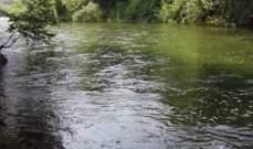 غرق مواطن في نهر بسري اثناء التقاطه الصور