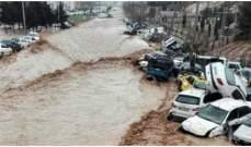 ارتفاع حصيلة ضحايا السيول في إيران إلى 62 شخصا