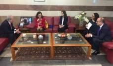 حمادة التقى وفدا من الجامعة الأنطونية واطلع على طلبات الفروع العالقة في الحكومة