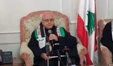 درويش:  نريد القدس مدينة عربية مفتوحة لكل الأديان