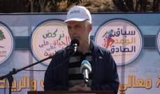 فنيش: مسألة ذهاب بعض وزرائنا إلى سوريا هي أمر طبيعي