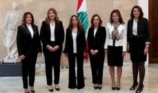 كلودين عون روكز: الكوتا النسائية طبّقت بنسبة 30 بالمئة للمرة الأولى في مجلس الوزراء