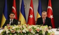 اردوغان: نأمل بانتهاء التصعيد شرقي أوكرانيا بأقرب وقت وحل النزاع عبر الحوار