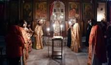 يازجي أقام سهرانية عيد البربارة والدمشقي وصلاة لراحة نفس إغناطيوس الرابع