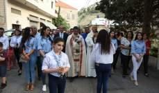 رعية مار الياس الحي في وادي العرائش تستقبل ذخائر الطوباوي الأب يعقوب الكبوشي