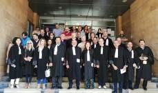 نقيب المحامين في طرابلس والشمال: نحن ضد أي مشروع من شأنه أن ينال من حق الفلسطينين بالعودة الى وطنهم