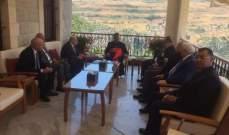 مصادر للنشرة: لقاء الراعي مع وفد المجلس التنفيذي للرابطة المارونية كان وديا