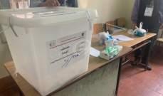 مصادر الداخلية للنشرة: العملية الإنتخابية كانت هادئة